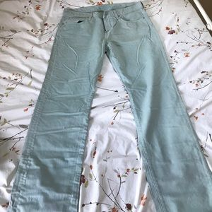 Seven For All Mankind men's mint jeans